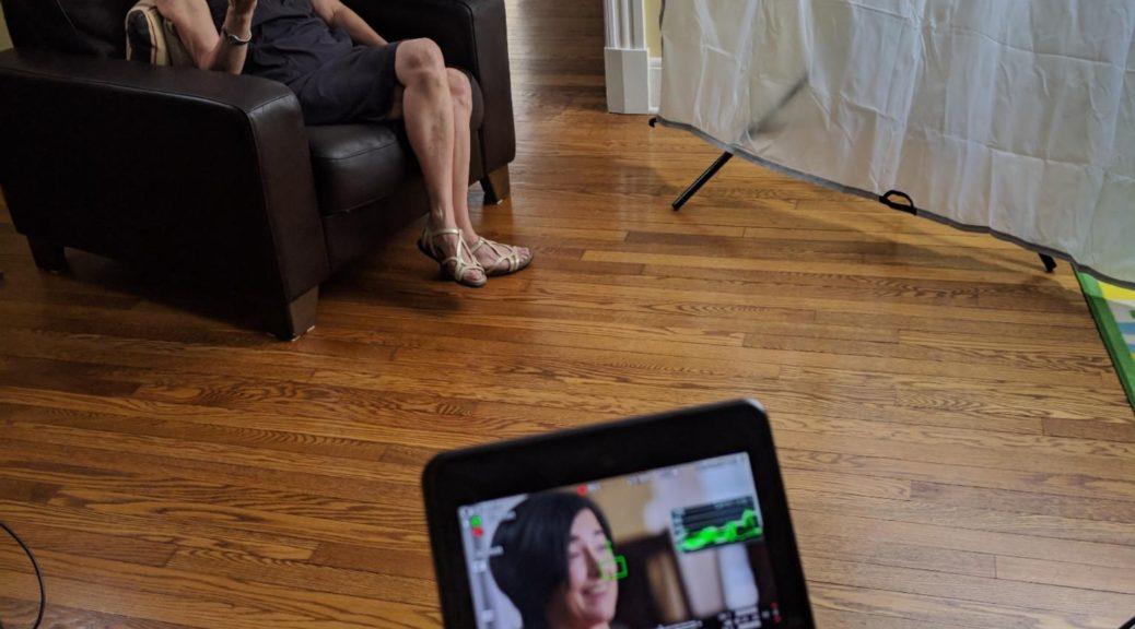 Video Crew, recording, Washington DC