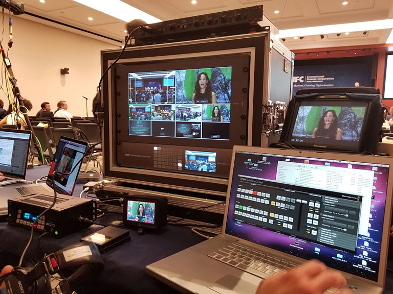 Live Stream Video Production, production crew